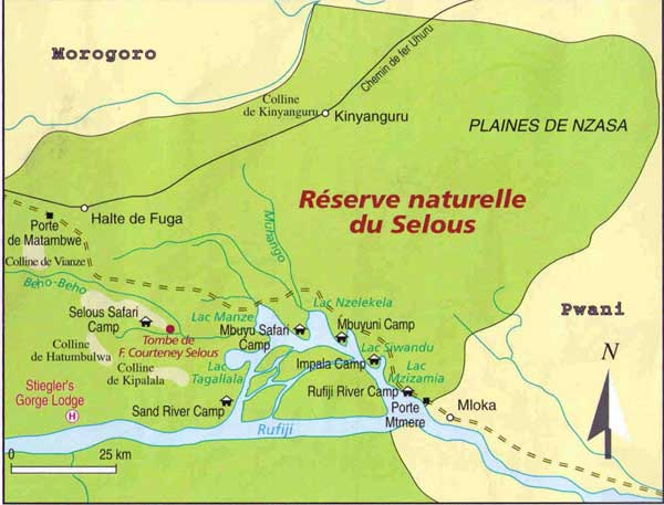 carte selous c