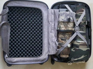 transports valise safari 800